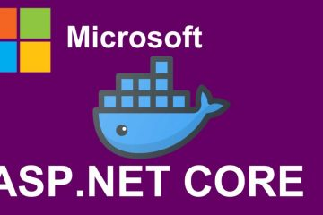 How to create a docker image for containerizing an ASP.NET Core MVC 5.0 Web Application