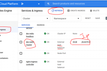 Deploying a Redis Cluster in Google Kubernetes Engine using Helm Chart