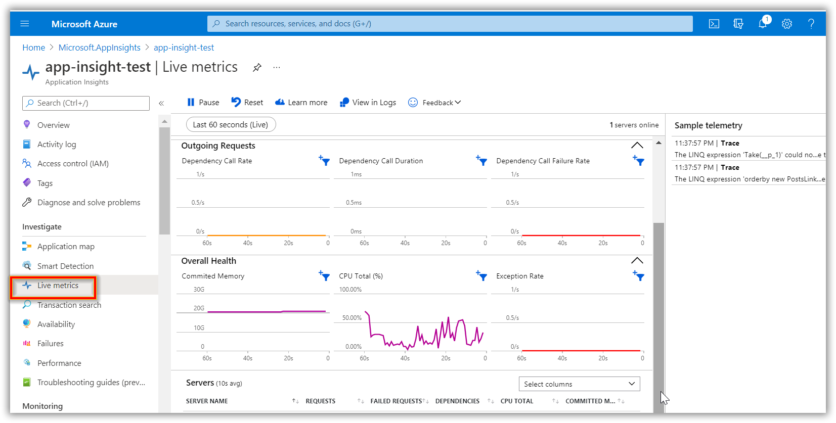 5 Easy Steps to Integrate Azure Application Insights into Your ASP.NET Core Application for Performance Monitoring